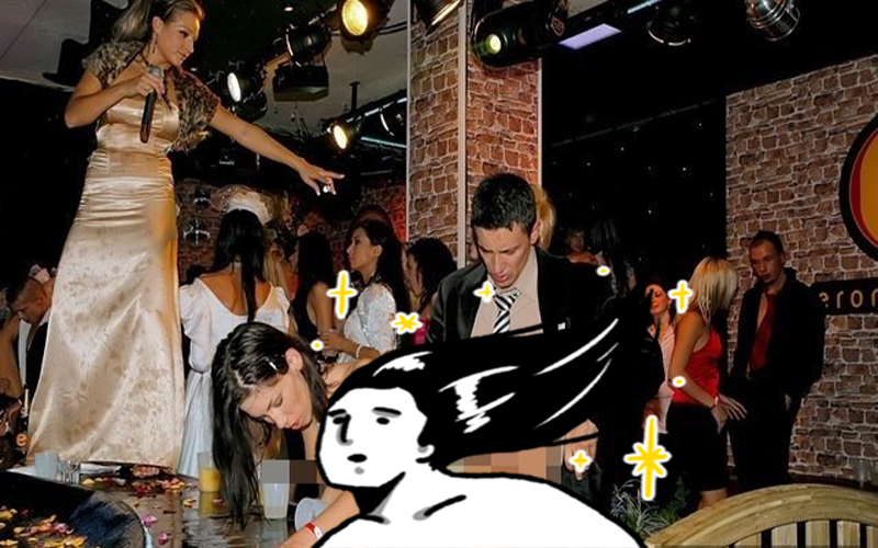 追求新聞真實度?女記者實地體驗「酒吧啪啪啪派對」臨場爽度?網友:從她臉部表情便可知!